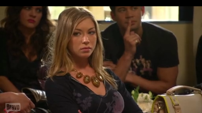 Stassi on Vanderpump Rules (Bravo)
