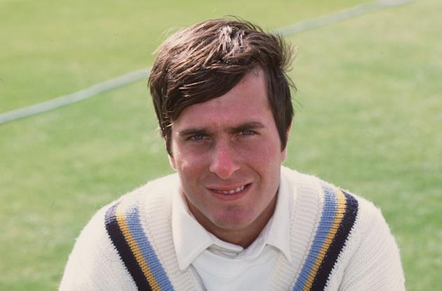 A portrait of Michael Vaughan of Yorkshire