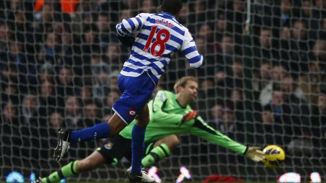 Premier League - Remy scores as QPR hold West Ham