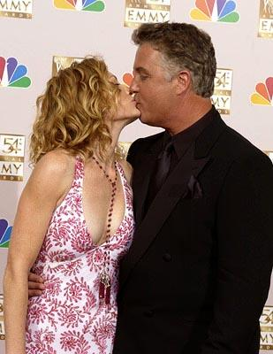 Marg Helgenberger and William Petersen Emmy Awards - 9/22/2002