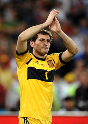 Iker Casillas admitted Spain were lucky to win on penalties against Portugal