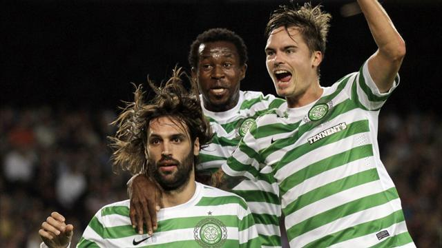 Scottish Football - Celtic beat Dundee to go seven points clear