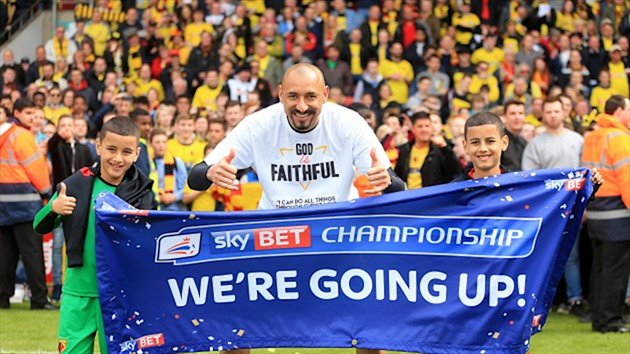 Heurelho Gomes will be back in the Premier League with Watford next season