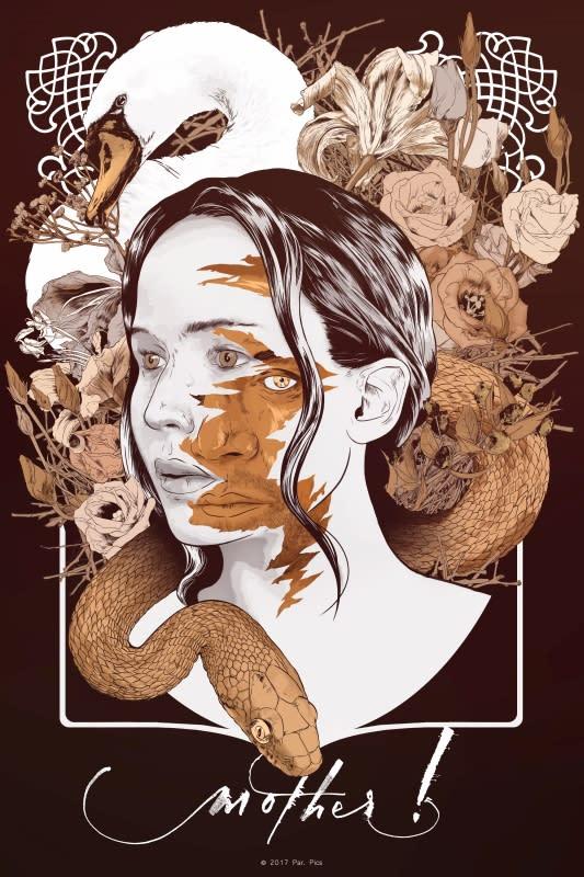 <p>出自英國藝術家James Fenwick筆下,在破碎的臉龐底下,才能現出一個人的真心。 </p>