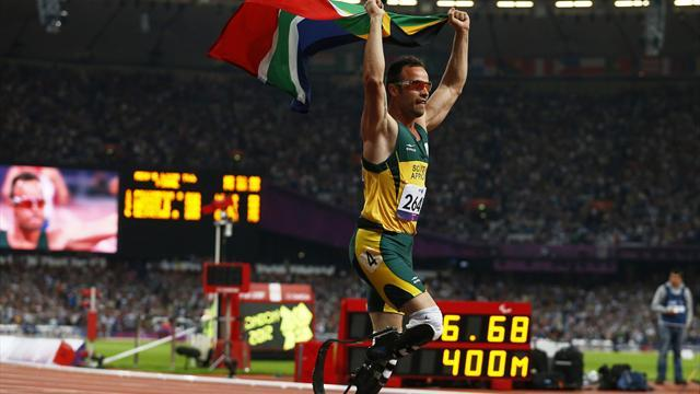 Pistorius wins final track gold of Paralympics