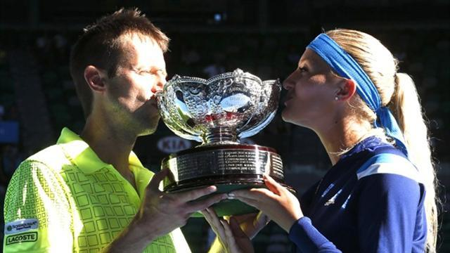 Australian Open - Nestor eyes mixed doubles grand slam after Melbourne win