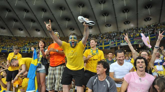 Swedish Supporters AFP/Getty Images