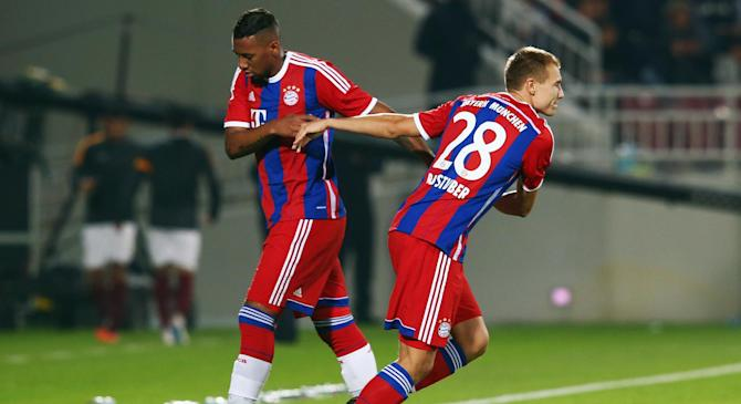 Video: Aspire Qatar vs Bayern Munich