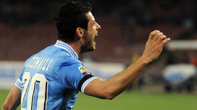 Serie A - Dzemaili eyes Scudetto with Napoli