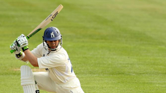 Jim Troughton were frustrated by rain at Middlesex