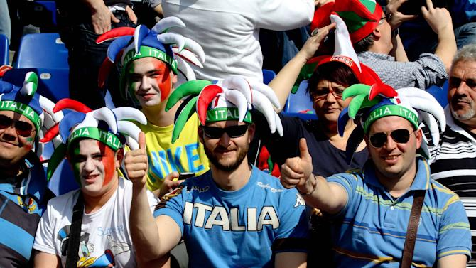 The RBS 6 Nations rugby match between Italy and Scotland at the Stadio Olimpico. Scotland�s RBS 6 Nations frustrations continued on Saturday as they fell to a 13-6 defeat to Italy. Rome, Italy - 17.03.12 **Available for publication in UK, Germany, Austria, Switzerland. Not available for publication in the rest of the world** Mandatory Credit: Fabio Alfano/WENN.com