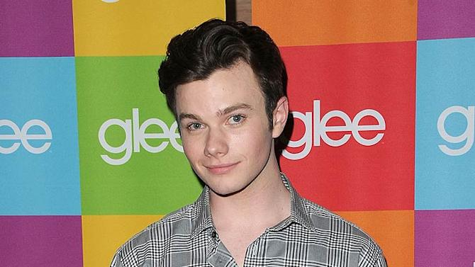 Chris Colfer Glee Scrng