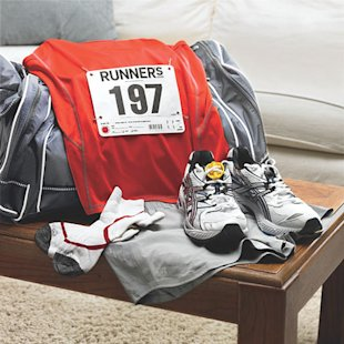 Training grounds are closed, races potentially canceled. You may have to put away that race day running outfit...