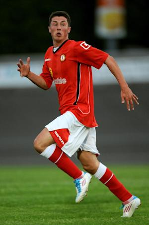 Harry Clayton penned a first professional contract with Crewe last summer