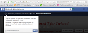 How To View Your Facebook Profile As Someone Else (Or As The Public Does) image facebook profile view as 3 550x208