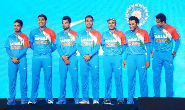 How do you like Team India's new look?