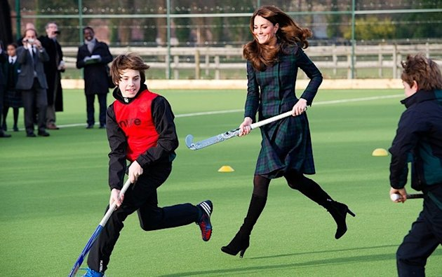 Kate Middleton : L'appel de la crosse