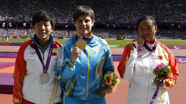 Discus thrower stripped of Paralympic gold twice