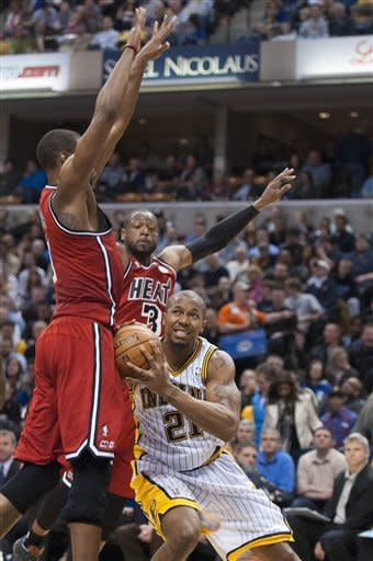 West's big night leads Pacers past Heat 102-89