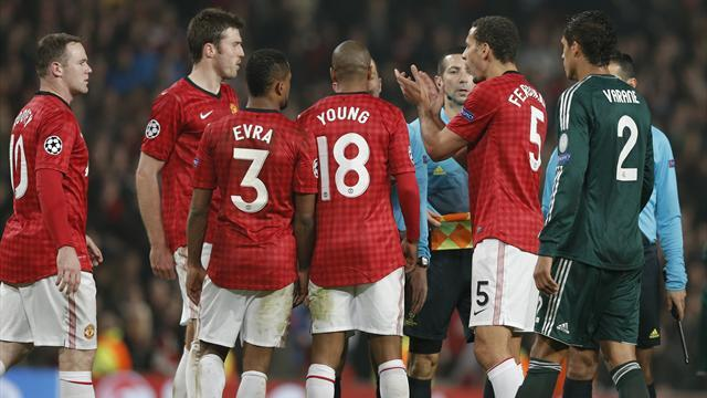 Champions League - Ferdinand escapes UEFA action over ref applause