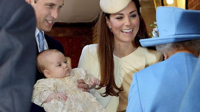 Prince George to Spend First Christmas With Queen Getting Funny Presents