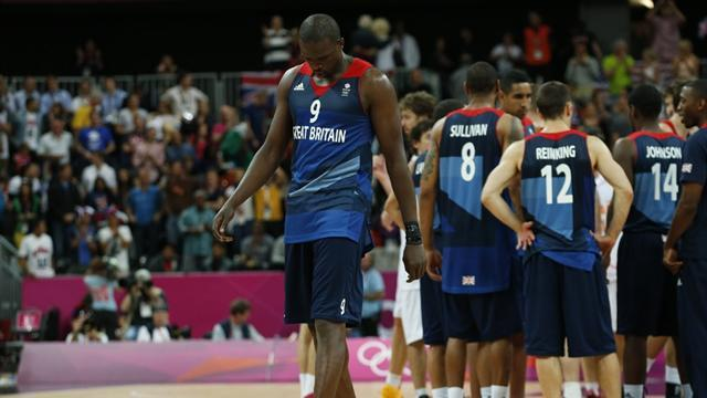 Olympic Games - GB basketballers find positives in narrow Olympic defeat