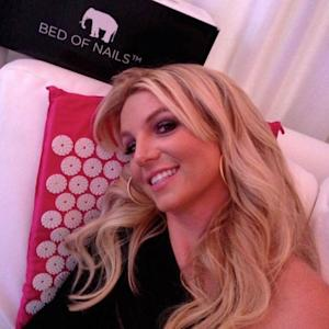 Britney Spears is one of the stars who has tried Bed of Nails --