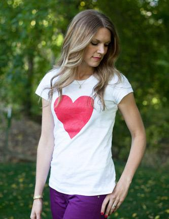 Graphic Heart Shirt