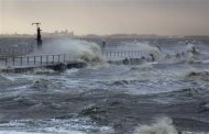 The North Sea beach is pictured near the town of Emden, December 6, 2013. REUTERS/Ina Fassbender