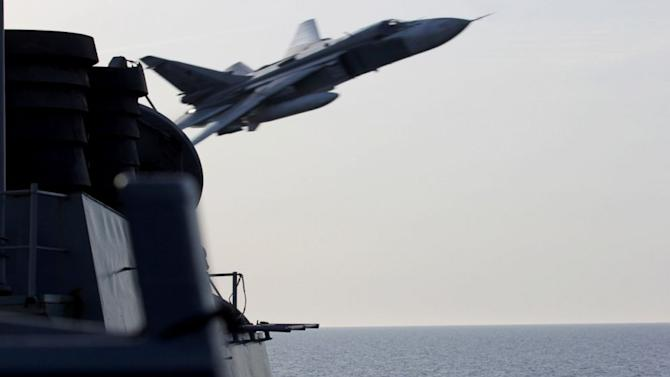 Russian Fighters Buzz US Navy Destroyer at Close Range, US Says