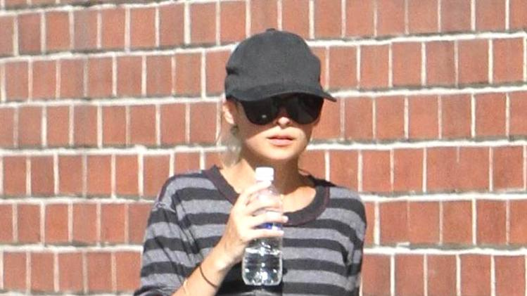 Nicole Richie Leaves Gym