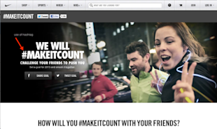 SoMoLo Marketing: Nike Case Study image makeitcount resized 600