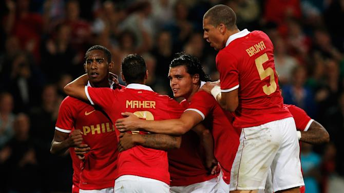 PSV Eindhoven v SV Zulte Waregem - UEFA Champions League Third Qualifying Round: First Leg