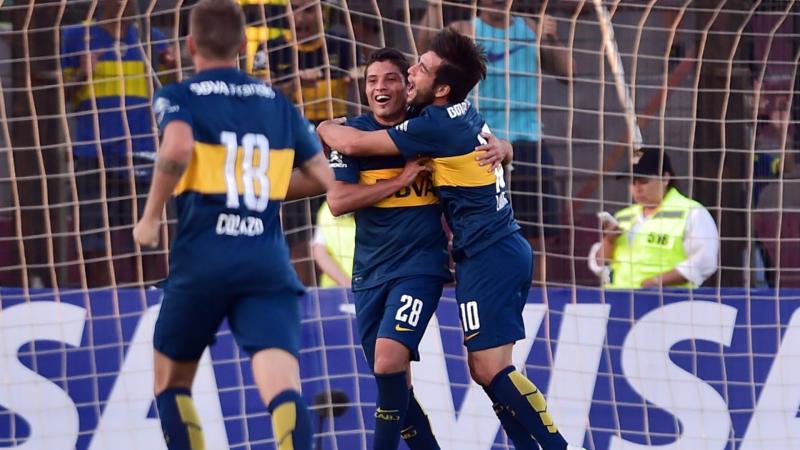 Palestino Boca Copa Libertadores 2015 18022015