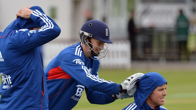 Cricket - Investec Test Series - First Test - England v New Zealand - England Nets Session - Day Two - Lords