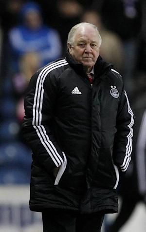 Craig Brown saw his team's 10-match unbeaten run in the SPL come to an end