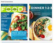 Martha Stewart has launched a digital subscription service for her popular food magazine Everyday Food