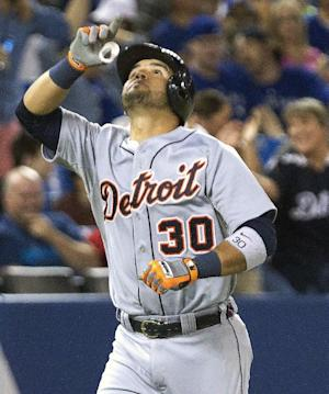 Tigers rally to beat Blue Jays 5-4