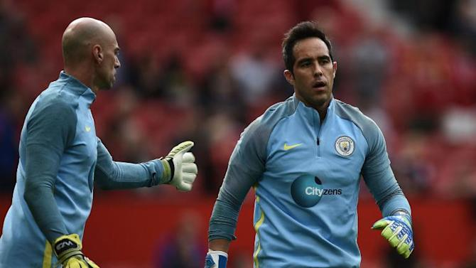 Pep Guardiola 'undecided' on first-team goalkeeper choice for Manchester City FA Cup replay against Huddersfield