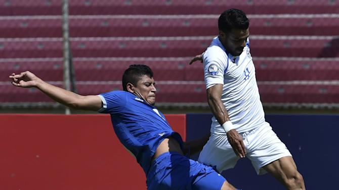 Gold Cup field nearly set after El Salvador tops Nicaragua