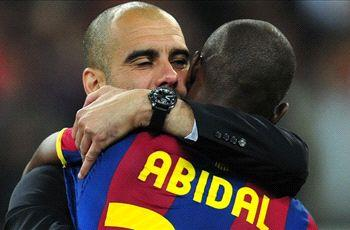 Abidal: I would still be at Barcelona if Guardiola had not left