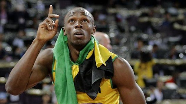 Usain Bolt at the London Olympic Games