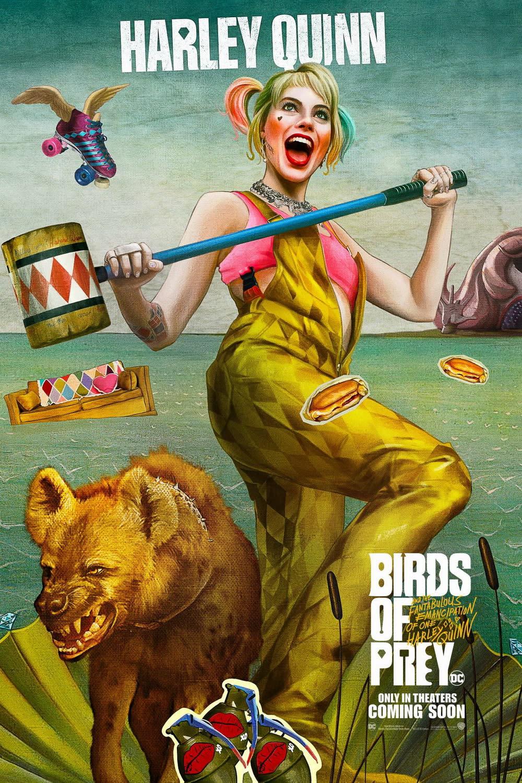 電影海報致敬愛與美的女神,既有設計感、又讓人印象深刻,更透過翻玩經典的方式傳達出電影頑皮又可愛的調性,也象徵全新的小丑女哈莉奎茵即將誕生。