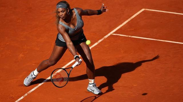 French Open - Williams in the mood for French Open title defence