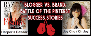 Blogger vs. Brand – Battle of the Pinterest Success Stories image HB VS OJ 1024x411