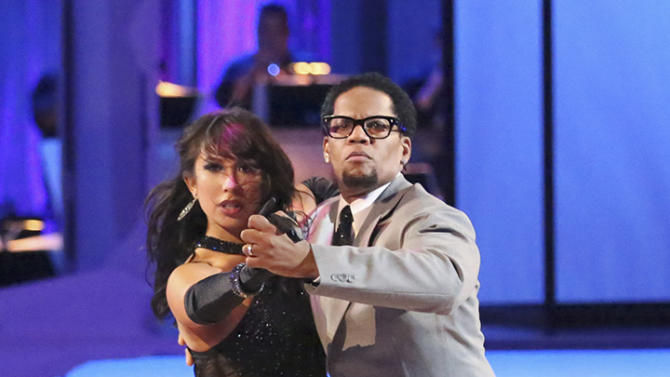 Cheryl Burke and D.L. Hughley (4/15/13)