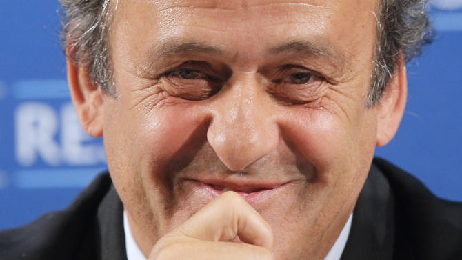 Michel Platini confirms he will run for FIFA president