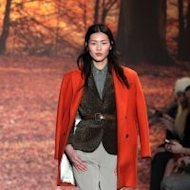 Liu Wen at the Paul & Joe Fall 2012 show