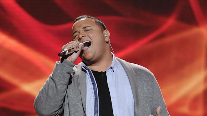 """Jeremy Rosado performs """"Ribbon in the Sky"""" by Stevie Wonder on American Idol."""""""