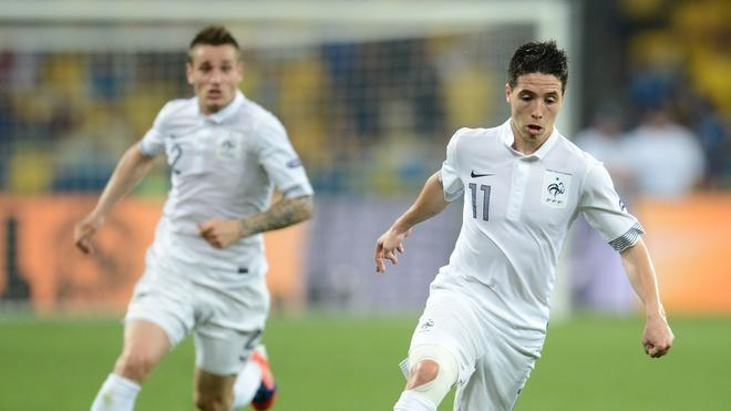 French Midfielder Samir Nasri Controls AFP/Getty Images